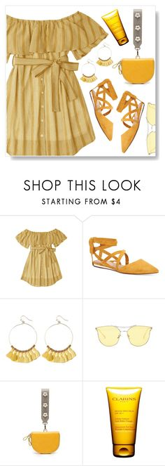 """Street Style"" by simona-altobelli ❤ liked on Polyvore featuring BCBGeneration and Clarins"