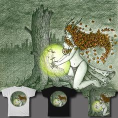 Healing the wounds of nature on Threadless