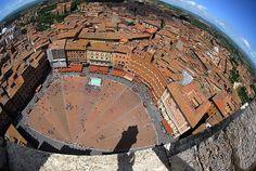 Dalla sommità della Torre del Mangia. Foto di Sergei Koulchitskii su http://fc-foto.it/9018100