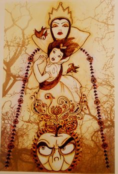 Snow White- This will be my snow white tattoo!
