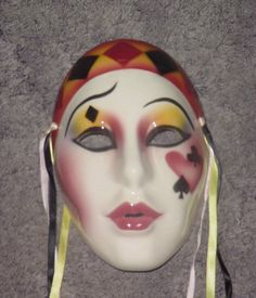 Clay art Mask San Francisco Co. Card Shark
