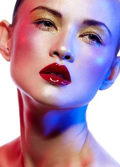 Glossy Beauty Looks