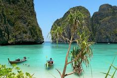 If you're interested in visiting Krabi but don't know where to start, this page will attempt to answer some commonly asked questions about the area. Krabi Thailand, Thailand Travel, Destinations, Photo Credit, Island, How To Plan, Water, Places, Outdoor