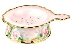 Porcelain Tea Strainer on OneKingsLane.com