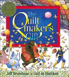great book for kids and adults - there was also a line of fabrics for the quilt~