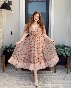 Pretty Outfits, Pretty Dresses, Pink Princess Dress, Strawberry Dress, Curvy Girl Outfits, Resort Dresses, Alternative Outfits, Dream Dress, Short