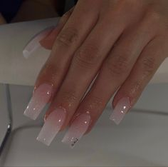 Acrylic Nails Coffin Pink, Short Square Acrylic Nails, Simple Acrylic Nails, Aycrlic Nails, Swag Nails, Grunge Nails, Nagellack Trends, Cute Acrylic Nail Designs, Fire Nails