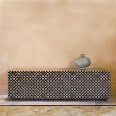 Carlo Pessina designed this credenza. The patterns and the simple lines turn this piece into a modern must have. Mid Century Modern Sideboard, Mid Century Modern Living Room, Living Room Modern, Living Rooms, Cool Furniture, Modern Furniture, Furniture Design, Furniture Ideas, Home Interior