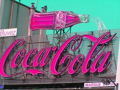 Coca Cola  -  PARIS - They even have the REAL thing, but PINK --- HOT!