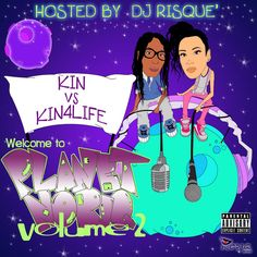 OK YES, SO FOR ALL YOU LOYAL KIN4LIFE FANS WE GOT YOU THE BRAND NEW MIXTAPE.V.2, THE SECOND PART OF THIER PLANET NORIQ MIXTAPES. THERE IS TOO MANY HOT BANGERS ON HERE TO MENTION, WHY NOT CHECK IT O…