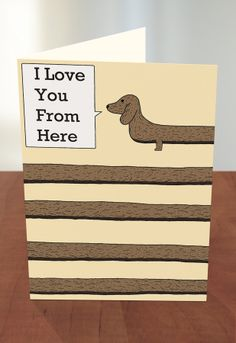 Greeting Cards At Target Long Sausage Dog By Threadless Artist Mark Morgan From The United Kingdom Available