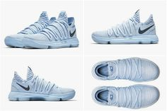 detailed look 8f95d 444f9 New Arrival NIKE KD 10 X ANNIVERSARY Faint Blue Multi Color 897817-900  Official Images Nike KD 10 Sale