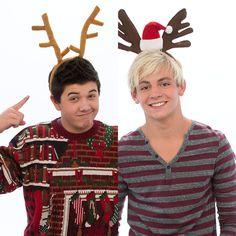 Bradley Steven Perry e Ross Lynch são os apresentadores do especial de natal.