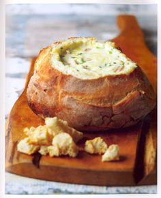 Savoury Filled Cob Loaf - My Grandma makes the best one of these and can use any filling flavours your like!
