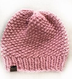 Free Knitting Pattern: Simple Seed Stitch Beanie Hat Free Knitting Pattern: Simple Seed Stitch Beanie Hat,Knitting patterns free hats Free Knitting Pattern: Simple Seed Stitch Beanie Hat – Beccie B Creative Related posts:How to. Baby Hat Knitting Patterns Free, Beanie Pattern Free, Baby Hat Patterns, Baby Hats Knitting, Loom Knitting, Knitting Stitches, Free Knitting, Knitted Hats, Knitted Baby Beanies