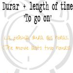 """Three verbs to talk about length time in Spanish: """"tardar"""", """"llevar"""" and """"durar."""" Here are a video and notes."""