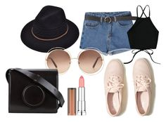 """""""18"""" by hermanrizek on Polyvore featuring Hollister Co., Chloé, Lemaire and Maybelline"""