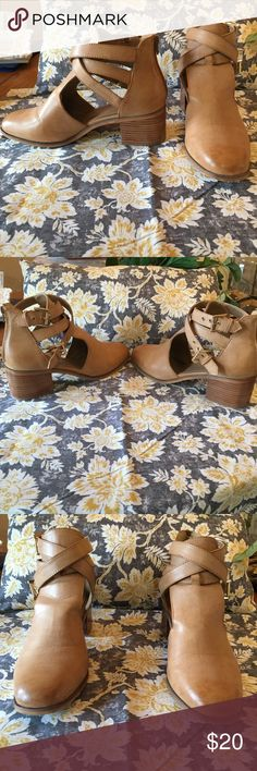 Boots Olive street tan boots Olive Street Shoes Ankle Boots & Booties