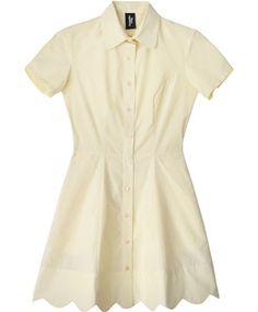 Canary Wave Dress