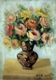 1949.03.02 Achille Incerti, Vaso con fiori