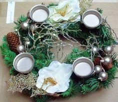 Adventskranz Adventsgesteck Kranz Weihnachten Advent Dekoration Deko - Amaryllis