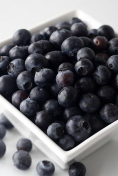 Anything with blueberries