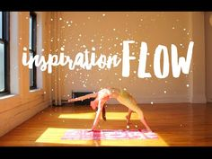 Daily inspiration flow - Tara Stiles  (great one to add to your day!) #TaraStiles