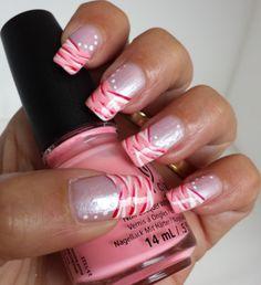 zebra-stripe-french-manicure-with-pink-white-red-zebra-nail
