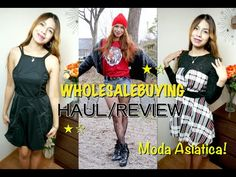 MODA ASIATICA - Mini HAUL/REVIEW Wholesalebuying
