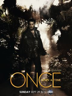 Once Upon A Time Season 3! It's Hook!!!