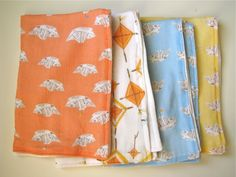 burp clothes as shower presents - stupid easy to make, but it helps to know what kind of fabric to choose