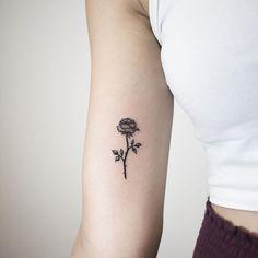 Here is a tiny rose I've never posted before  #rose #rosetattoo #smallrosetattoo #smalltattoo #tinytattoo #girltattoo #tattoosforgirls #blackandgrey #blackwork #inked #ink #inkstagram #nyctattoo #nyctattooartist