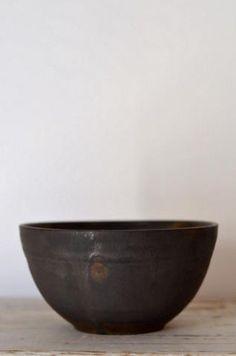 ブロンズ釉鞠碗  径13cm 高さ7cm  価格:6300円