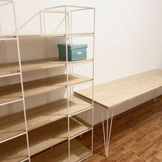 Realizácie   ROXOR DESIGN STORE Desk Organization Diy, Shelving, Bookcase, Store, Design, Home Decor, Shelves, Decoration Home, Room Decor