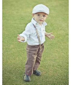 Ring barer - Waylon would look so cute in this outfit!! @kym geiser