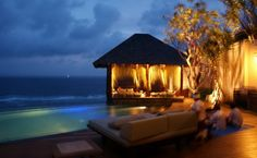 A family friend owns this beautiful villa in Bali- I will travel here someday! I dream of it every night!