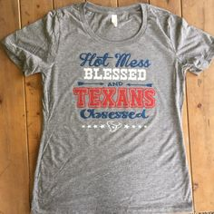 Hey, I found this really awesome Etsy listing at https://www.etsy.com/listing/244727188/houston-texans-womens-shirt-hot-mess