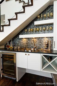 20 Kullanışlı Merdiven Altı Tasarımı!