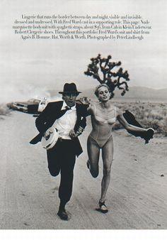 Photos PETER LINDBERGH for Harpers Bazaar, 1993 - Beri Smither