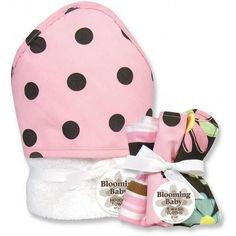 Great Blooming Bouquet Gift Sets - MAYA DOT - Hooded Towel