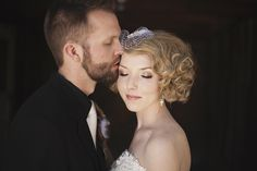wedding hair! (by Kat Green Events)