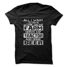 Work on my farm T Shirts, Hoodies. Get it here ==► https://www.sunfrog.com/LifeStyle/Work-on-my-farm.html?41382 $19