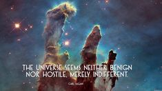 The universe seems neither benign nor hostile merely indifferent. - Carl Sagan [1920x1080][OS]