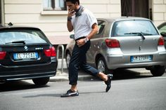 Spring street trend 2015 men, women | ... Fashion Week Spring 2015 - Milan Men's Fashion Week Spring 2015 Street