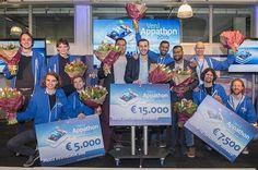 Milvum wint Appathon `van woord naar geluid' van ministerie van V&J - http://appworks.nl/2016/11/29/milvum-wint-appathon-van-woord-naar-geluid-van-ministerie-van-vj/