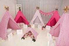 Festa Pink Em Casa minieventos