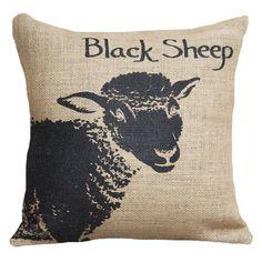 Black Sheep Pillow