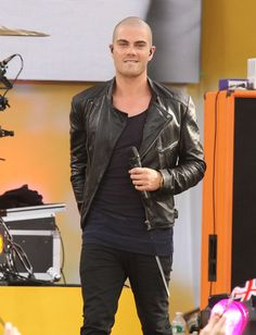 Max George - The Wanted Performs on 'GMA'