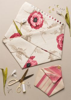 Adorable no sew origami tote bag #tutorial from House That Lars Built #howto
