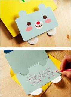 MochiThings.com: Mint Bear Card